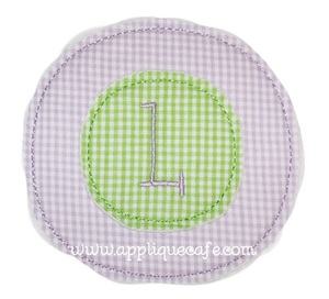 Double Circle Applique Design