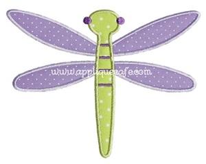 Dragonfly 2 Applique Design