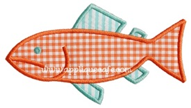 Fish 6 Applique Design