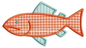 Fish 6 Applique Design