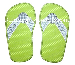 Flip Flops Applique Design