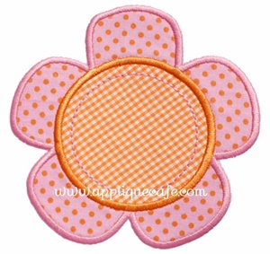 Flower 7 Applique Design