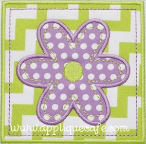 Flower Patch Applique Design