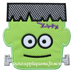 Frankenstein 2 Applique Design