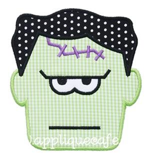 Frankenstein Applique Design