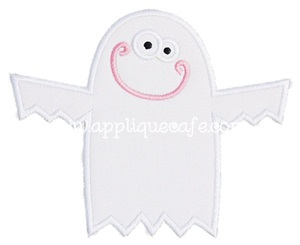 Ghost Applique Design