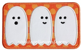 Ghost Patch 2 Applique Design