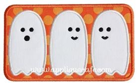 Ghost Patch 2 Applique Design