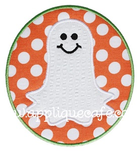 Ghost Patch Applique Design