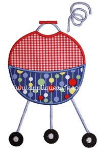 Grill Applique Design