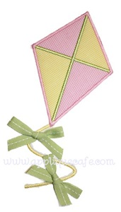 Kite Applique Design