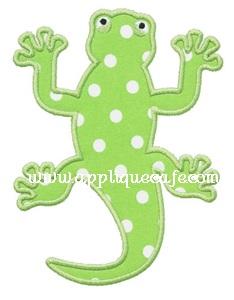 Lizard Applique Design