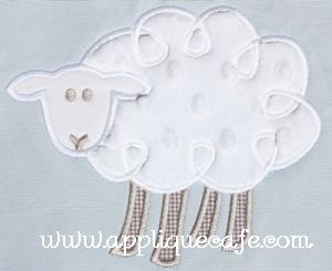 Loopy Sheep Applique Design