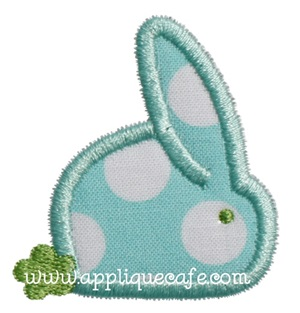 Mini Baby Bunny Applique Design