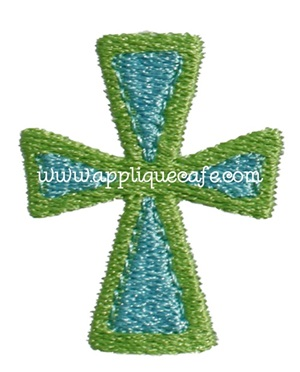 Mini Embroidery Cross 2 Design