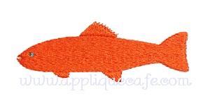 Mini Embroidery Fish Design