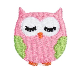 Mini Embroidery Owl Design