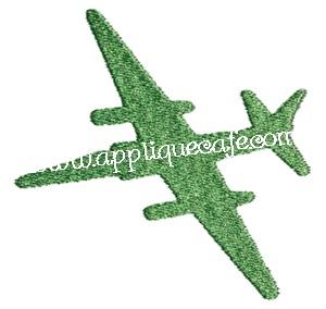 Mini Embroidery Jet Design