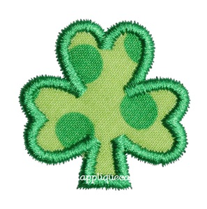 Mini Shamrock Applique Design