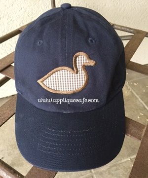 Mini Simple Duck Applique Design