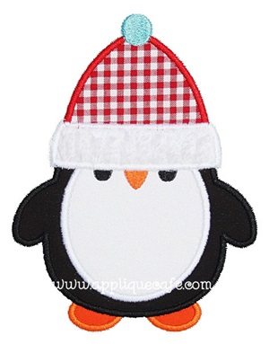 Penguin Applique Design