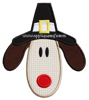 Pilgrim Dog 2 Applique Design