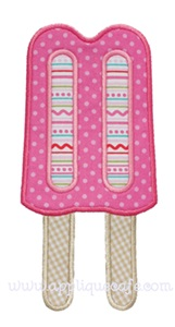 Popsicle 2 Applique Design