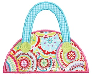 Purse 2 Applique Design