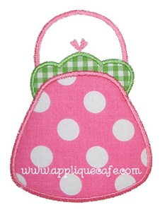 Purse Applique Design