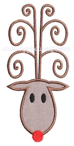 Rudolph Applique Design