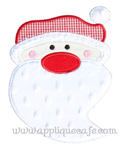 Santa Claus 2 Applique Design