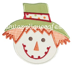 Scarecrow 2 Applique Design
