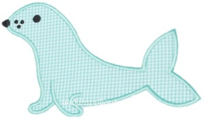 Seal Applique Design