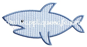 Shark 2 Applique Design