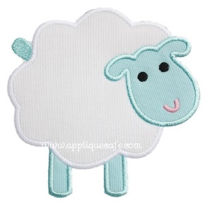 Sheep 2 Applique Design