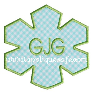 Snowflake Applique Design