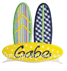 Surfboards Applique Design