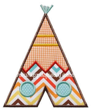 Teepee Applique Design