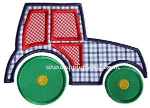 #982 Tractor Applique Design
