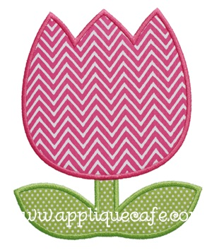 Tulip 2 Applique Design