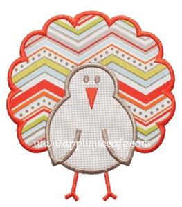 Turkey 7 Applique Design