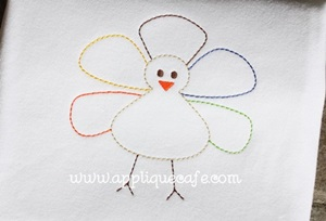 Turkey 8 Embroidery Design