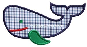 #984 Whale 7 Applique Design