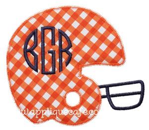 Zig Zag Helmet Applique Design