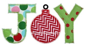 Zig Zag Joy 2 Applique Design