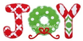 Zig Zag Joy Applique Design