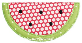 Zig Zag Watermelon Applique Design