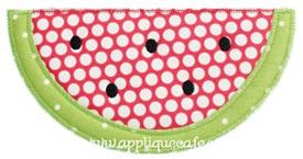 Zig Zag Watermelon Applique Design